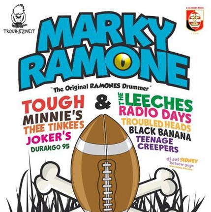 MARKY RAMONE poster