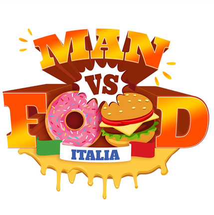 LOGO: Man vs. Food – Italia
