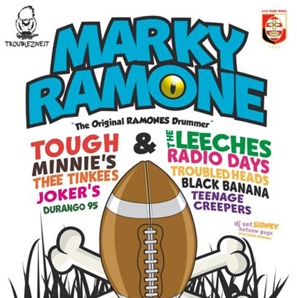 MARKY RAMONE poster
