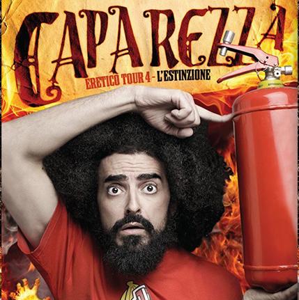"CAPAREZZA – poster ""eretico tour4"""